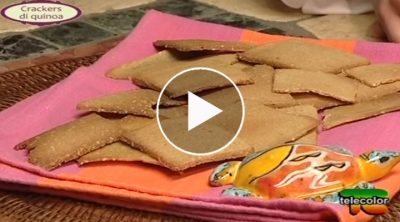 esther mozzi crackers di quinoa